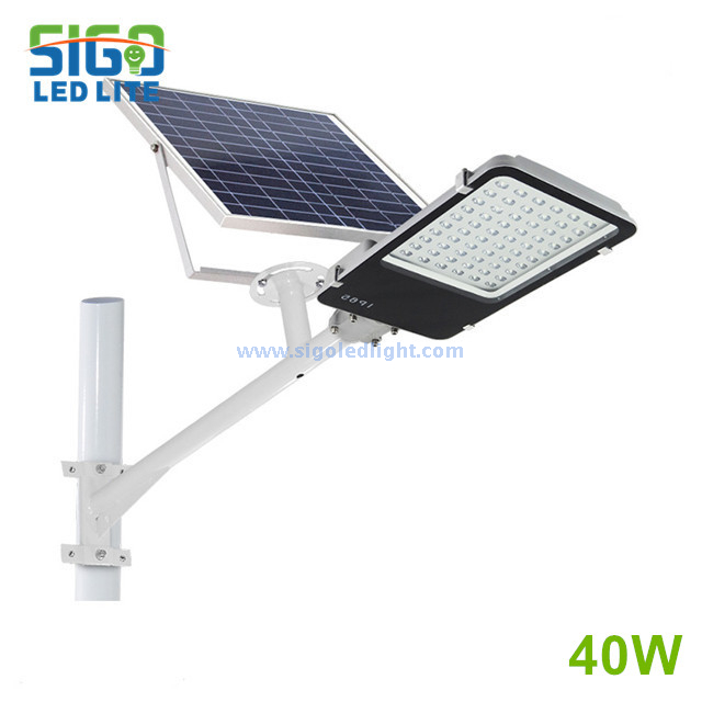 All in two Solar street light 40W for courtyard square school main road countryside road easy installation