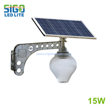 Solar garden light 15W for park courtyard garden save energy