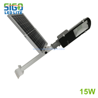 All in two Solar light 15W easy installation wholesale type save energy used for courtyard square school