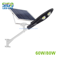 All in two solar street light 60W/80W for main road project