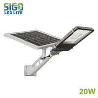 All in two Solar light 20W for street main road countryside high quality