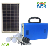 Solar home light system 20W