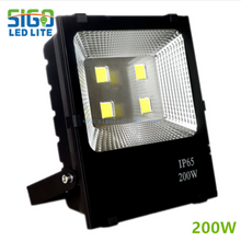 solar LED flood lights 200Watts with heavy duty die casting housing for projects